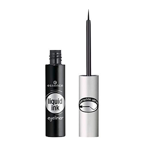Essence - delineador de ojos liquid ink eyeliner waterproof - negro.