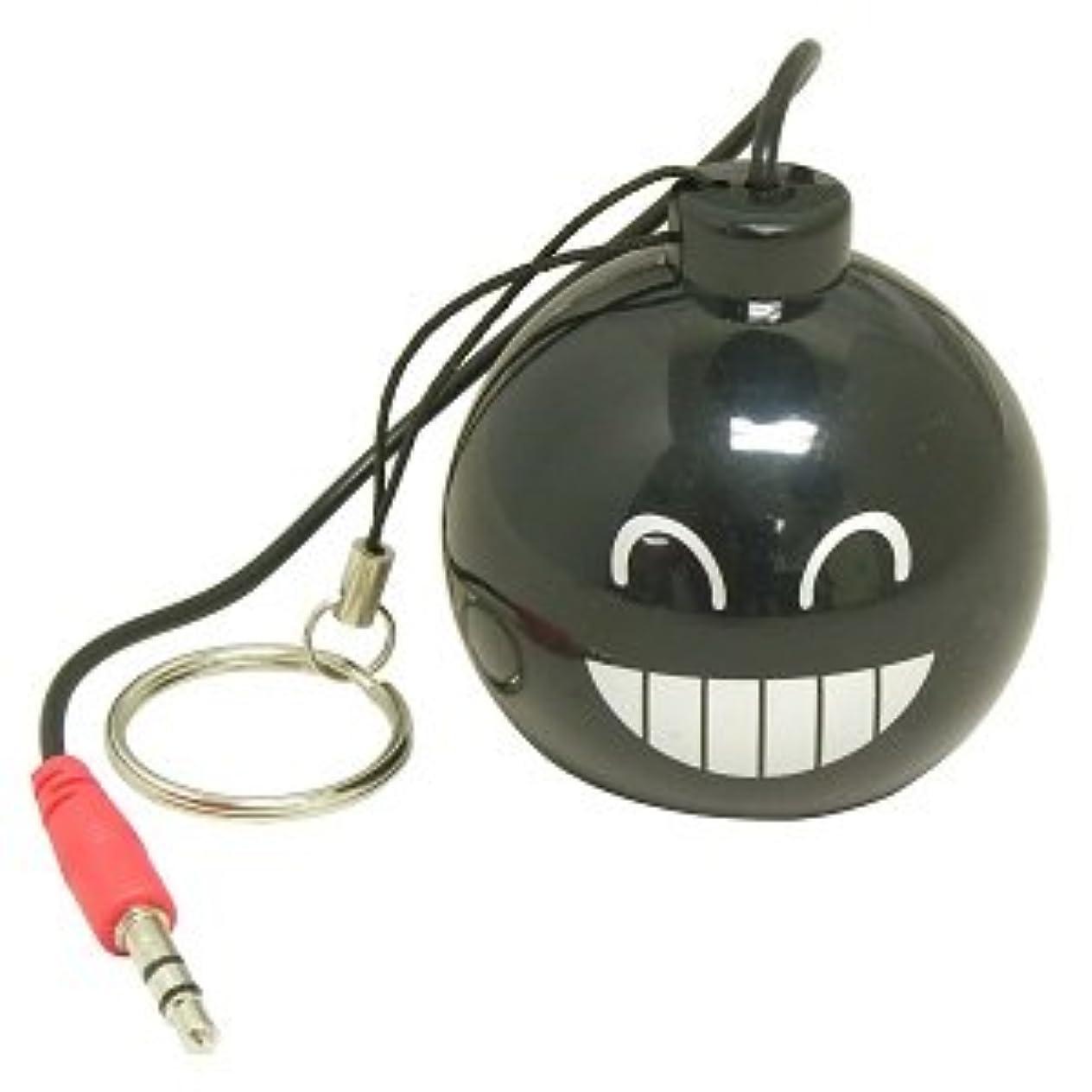 ポルティコ工業用バンドミニ充電式Bombスピーカーデザイン「A」、Big Smile