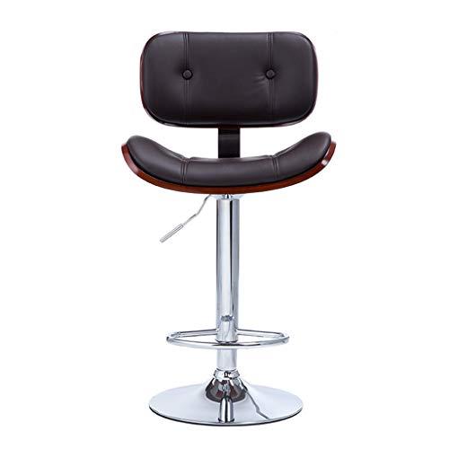 Chaises de bureau Chaise De Bar Chaise De Dossier De Bureau Chaise De Petit Déjeuner À La Maison Tabouret Haut Télésiège Tournant Peut Supporter 200 Kg Cadeau