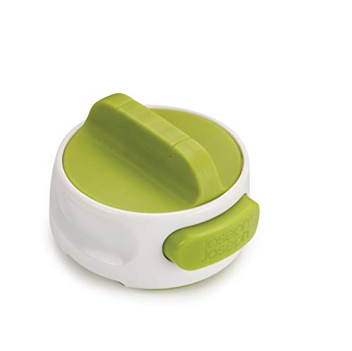 Joseph Joseph Can-do - Kompakter Dosenöffner mit Abhebeautomatik -weiß/grün