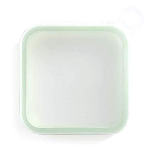 Wenhe Office Worker Lunch Box - Recipiente de silicona reutilizable, fácil de transportar para mantener la comida fresca, fiambrera
