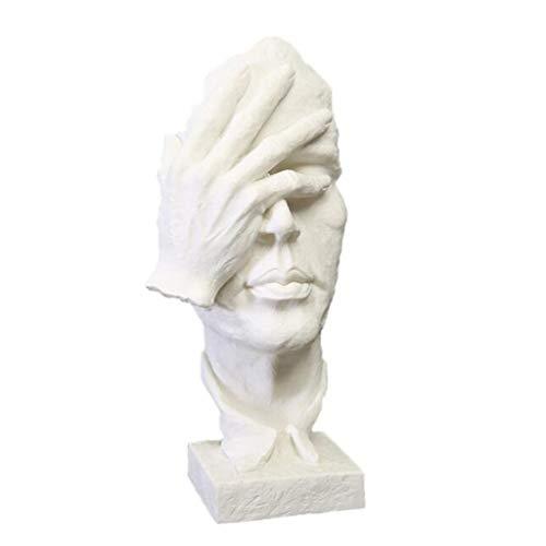 YIGEYI Sculpture Grès Résine Artisanat Décoration De Bureau Sculpture Ornement Sculptures Décoratives