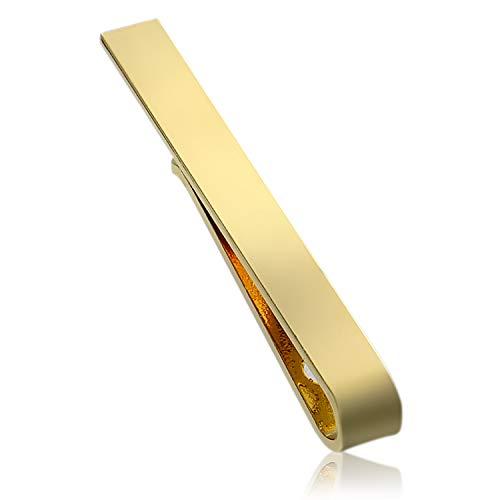 aliba ネクタイピン メンズ おしゃれ ゴールド クリップ式 高級 ブランド プレゼント 就職祝い フォーマル 紳士 人気 誕生日