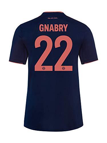 FC Bayern München Trikot Champions League 2019/20, Gnabry, Größe L