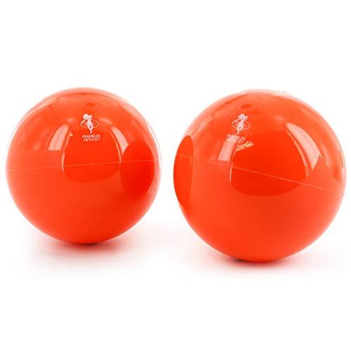 Franklin Ball Soft | 2er-Set | Ø ca. 10 cm | Myofascia Faszien Ball | Triggerpunkt-Therapie | Fußmassage | Reflexologie
