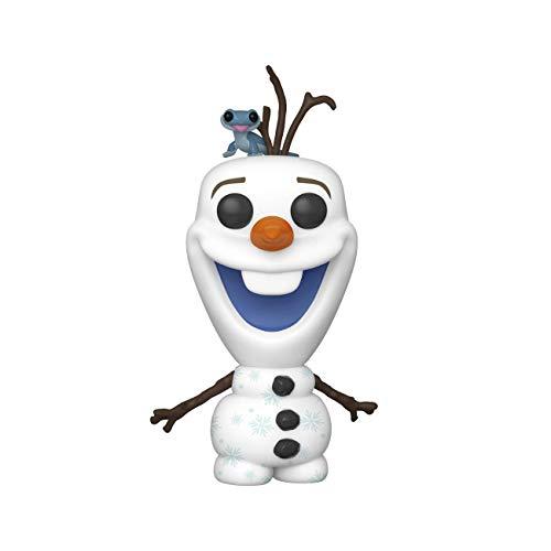 Funko Pop! Disney: Frozen 2 - Olaf with Fire Salamander, Multicolor