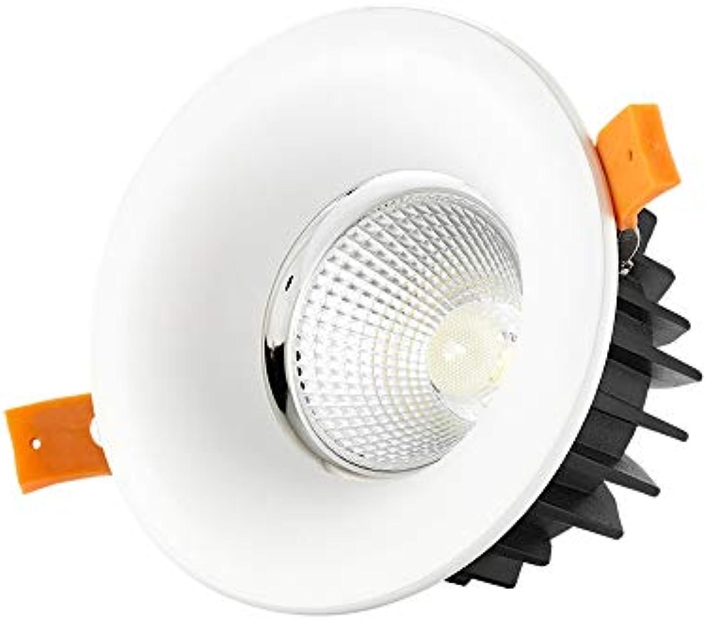 Lionze Aluminium-Handels-Panel-Lampe Grüniefte runde Deckenleuchten Downlight Blendschutzbekleidungsgeschft verborgene Scheinwerfer mit LED-Fahrer-Hotel-Ausstellungs-Dekoration
