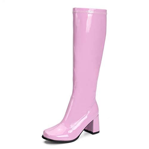 LIURUIJIA Women's Go Go Boots Over …
