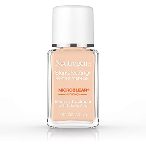 Neutrogena Skinclearing Makeup, 40 Nude, 1 Fl. Oz.
