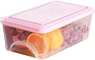 Lpiotyucwh Paniers et Boîtes De Rangement, 2pcs Storage Storage Bacs Boîtes Boîtes d'alimentation pliable Organisateur de ...