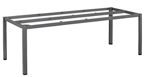 Kettler Advantage esstische Cubic de Mesa Estructura 220x 95cm, Color Negro