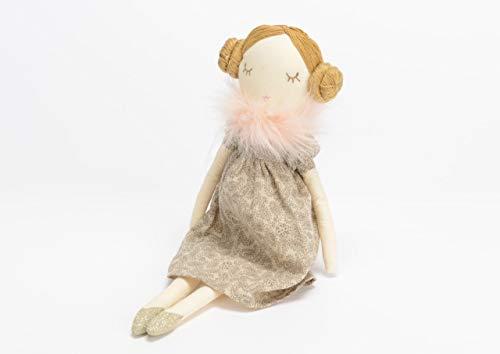 Poupée Séraphine en tissu, collection Les Petits, Amadeus