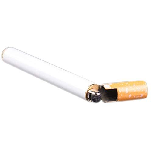 NL Metall Zigarette Typ Form Leichter, Zigarettenanzünder, wiederaufladbare windundurchlässiges Flameless dünne elektrische Protable Feuerzeug for Partei, Küche, 1.8x1.6x5.5cm
