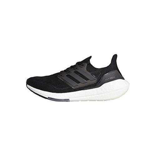adidas Running Shoe, Zapatillas para Correr Mujer, Negro, Negro, Gris, 42 EU