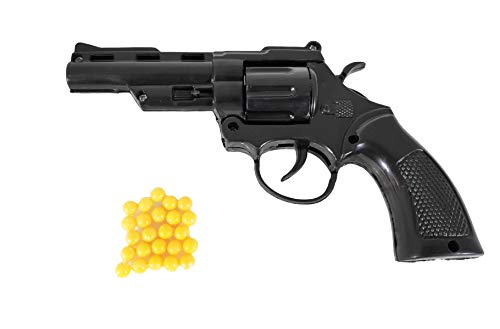 Humaira Mini Toy Gun PUBG Pistol with 8 Round Barell and 6 mm Plastic BB Bullet for Kids Boys (24 Pieces)