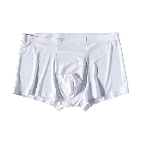 Sin costuras ropa interior spandex entrepierna nylon pantalones cortos más tamaño