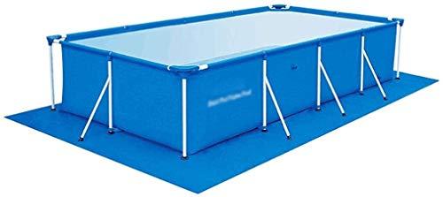 Las piscinas portátiles desmontable rectangular piscina bomba del filtro desgaste de las pastillas piscina cubierta jardín al aire libre grande de la familia de diversión familiar Lounge Pool 5 Tamaño