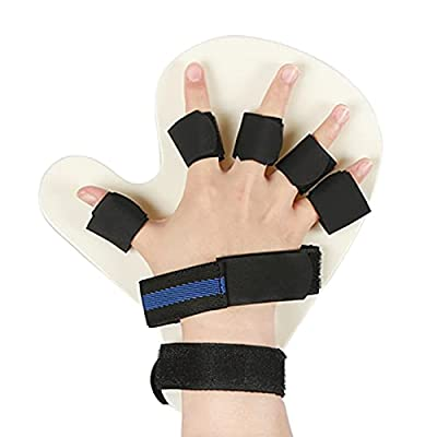 Trycooling Finger Orthotics,Finger Training Board for Stroke Rehabilitation,Medical Hand Wrist Device Brace Support (L Right) by Trycooling