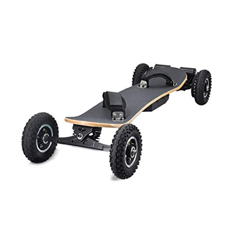 CCDYLQ 40Km/H Off Road Electric Skateboard, Motorized Mountain Longboard with Dual Motors with Wireless Remote Control, 8 Layers, All-Terrain, for Kids Teens