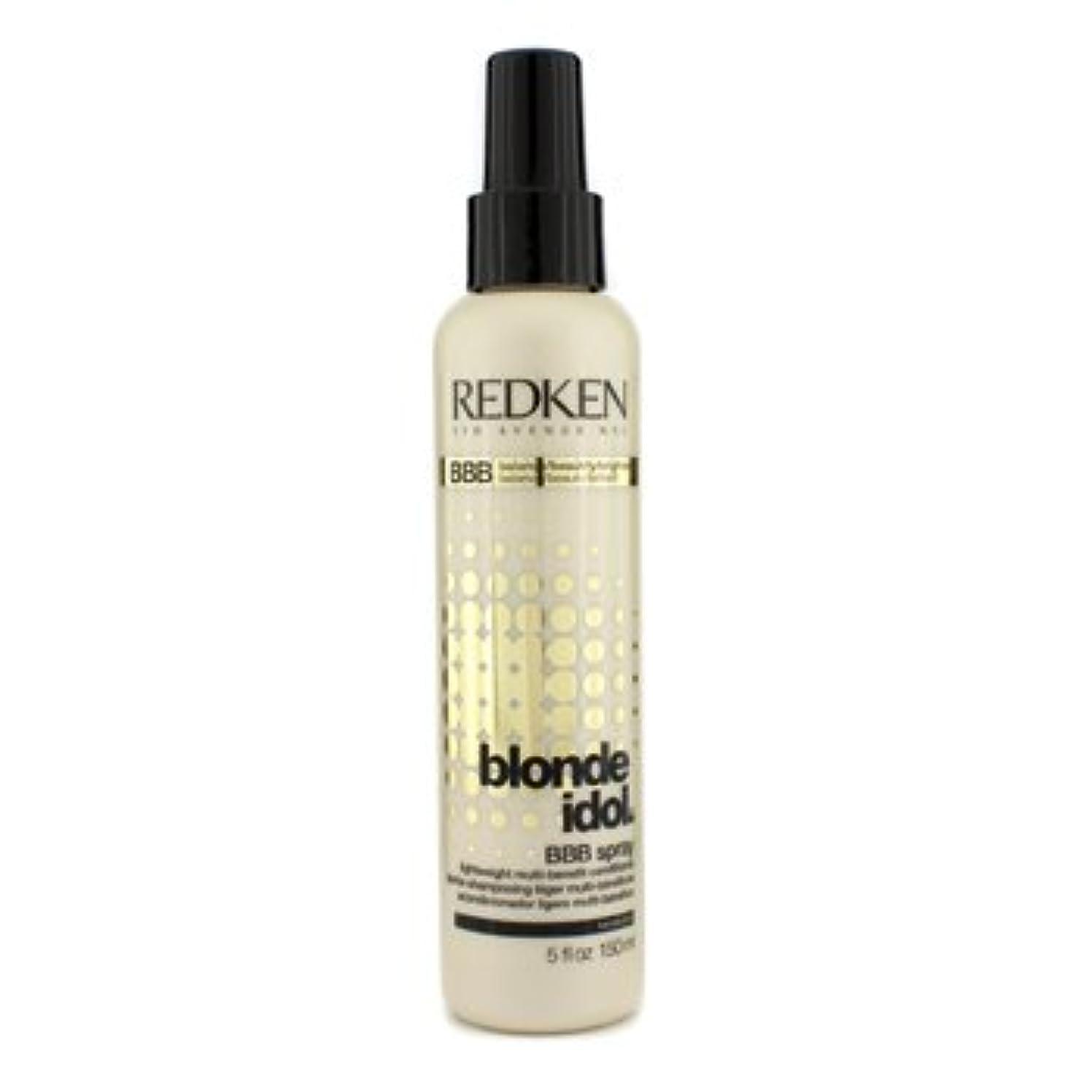 熟達したあごひげフィードバック[Redken] Blonde Idol BBB Spray Lightweight Multi-Benefit Conditioner (For Beautiful Blonde Hair) 150ml/5oz