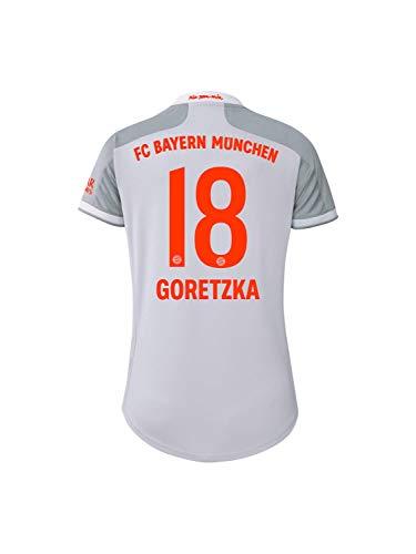 FC Bayern München Damen Away-Trikot Auswärts Saison 2020/21, Gr. S, Leon Goretzka