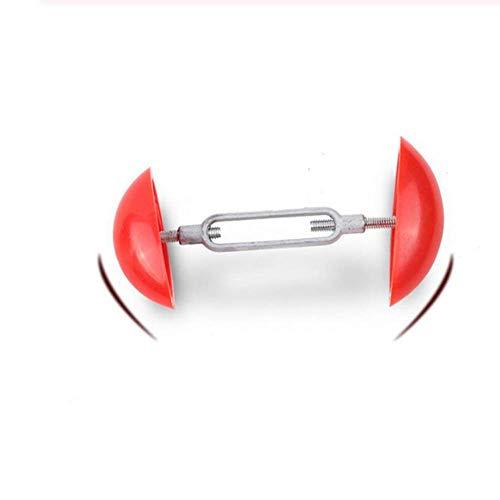 SISHUINIANHUA 2 stücke Einstellbare Mini Schuhe Keepers für Schuhformer Unterstützung Breite Stretch Halter Maca Care Bahre Bäume Extender,Red