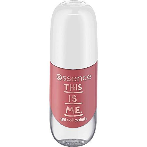 essence this is me. gel nail polish, Nailpolish, Nagellack, Nr. 06 real, nude, gelig, ohne Aceton, vegan, ohne Alkohol (8ml)