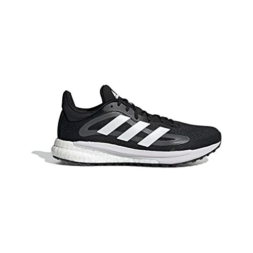 adidas Solskydd för män 4 M tävling löparskor, Svart - Mehrfarbig Negbás Ftwbla Gricin - 43.5 EU