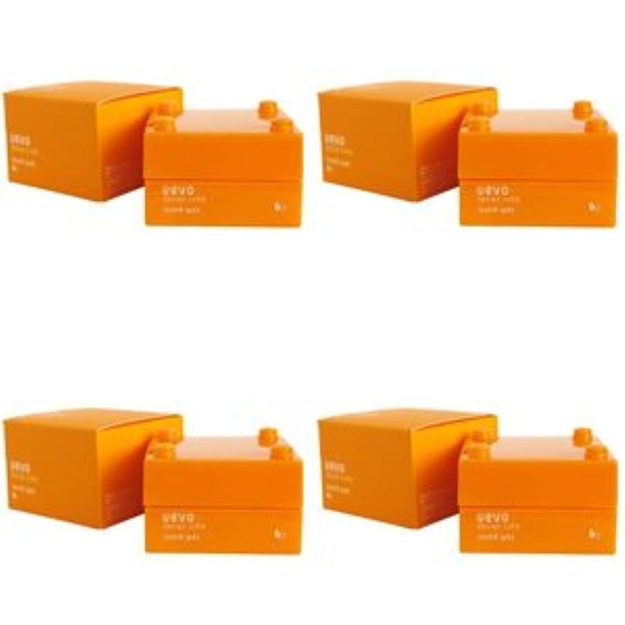 マーティンルーサーキングジュニア砲撃拾う【X4個セット】 デミ ウェーボ デザインキューブ ラウンドワックス 30g round wax DEMI uevo design cube