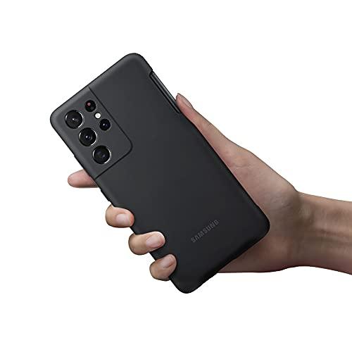 Samsung Cover in silicone con S Pen per Galaxy S21 Ultra 5G (2021), Black