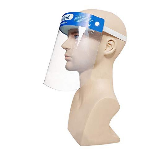 Gelaatsscherm Beschermend masker Hoogdoorlatende Pet Film Anti-Fog blauw