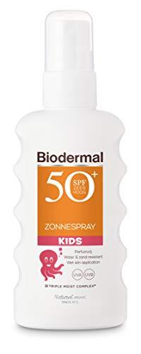 Biodermal Zonnebrand Kids - Zonnespray SPF 50+ voor kinderen - 175 ml