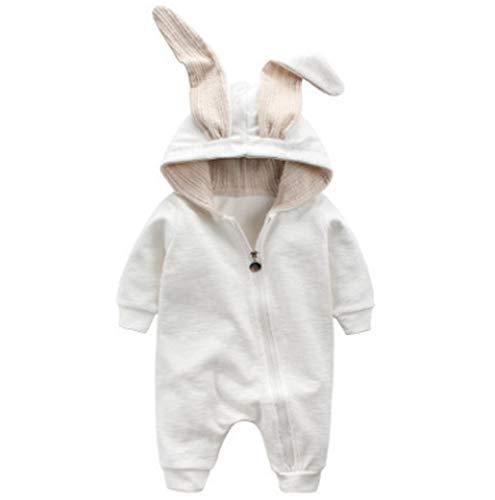 Dehots Dehots Baby Kleidung Jungen Mädchen Strampler Overall Jumpsuit Kleinkind Bodysuits Outfits Einteiler Jacke 0-18 Monate Neugeborenen Schlafstrampler Säugling