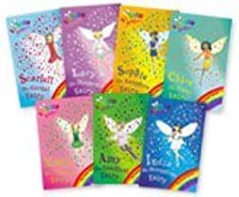 Rainbow Magic: Jewel Fairies, 7 Books, RRP £27.93 (India the Moonstone Fairy, Scarlett the Garnet Fairy, Emily the Emerald Fairy, Chloe the Topaz Fairy, Amy the Amethyst Fairy, Sophie the Sapphire Fairy, Lucy the Diamond Fairy) (Rainbow Magic)