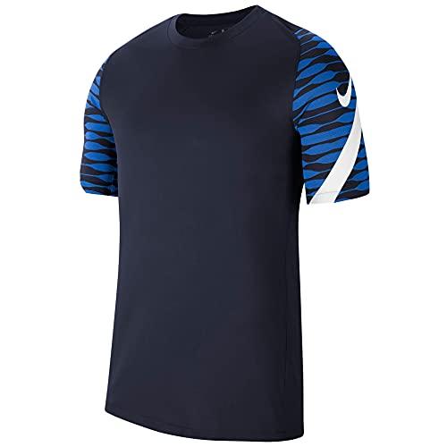 NIKE Camiseta para Hombre Strike 21, Hombre, Camiseta, CW5843-451, Obsidian/Royal Blue/White/White, XX-Large