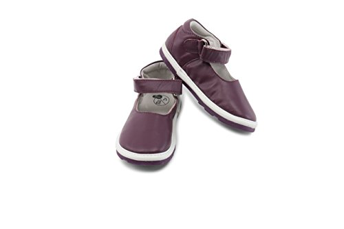 Tommy Tickle Trax Mary Jane Plain Ballerina's voor baby's
