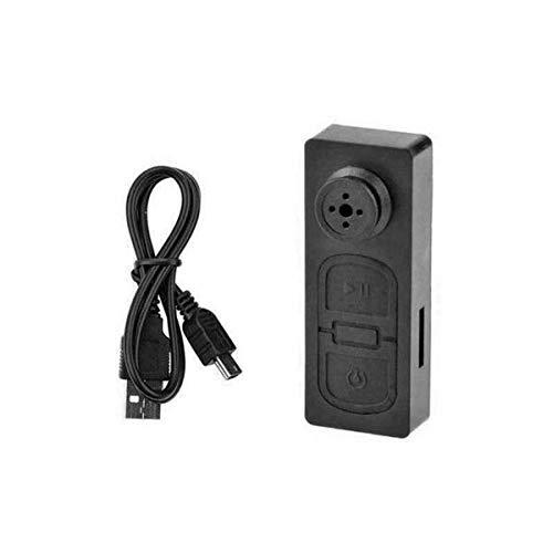 Eurroweb - Botón con cámara espía HD 480P con micrófono