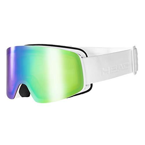 HEAD Unisex– Erwachsene Infinity Skibrille, FMR blau/grün, Einheitsgröße
