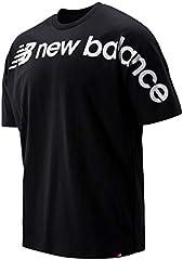 New Balance Camiseta Manga Corta Negro para Hombre - MT93514
