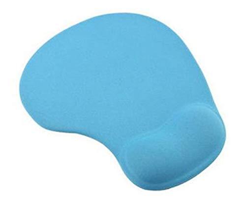 Robuster Komfort Hellblaue Gelauflage Handgelenkstütze Matte Mauspad Perfekt für optische Mäuse, Trackball-Mäuse und mechanische Mäuse