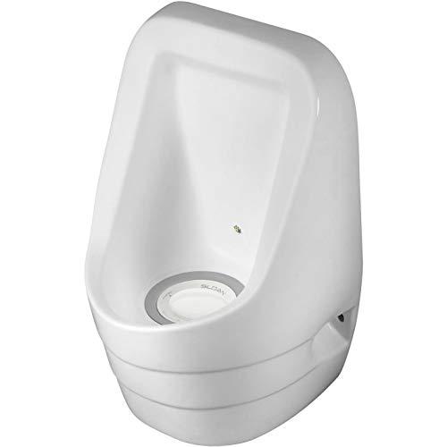 Sloan WES-4000 Waterless Urinal - White, 22-5/8' x 15-3/8' x 14'