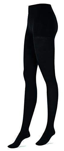 ITEM m6 Tights Opaque Damen Kompressionstrumpfhose blickdicht (L1/ M, black)