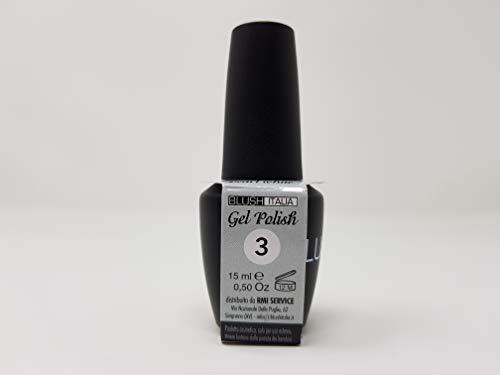 Gel Polish 15 ml semipermanenti Blush Italie 96 couleurs ultra coprenza maximale durée (03 – Pearl White)