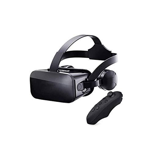 SMSOM VR Headset Compatibel met iPhone en Android telefoons | Afstandsbediening voor Android Smartphones | 3D Virtual Reality Goggles w/Controller - Cadeau voor kinderen en volwassenen