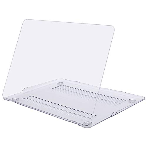 MOSISO Ultra Slim Plastic Hard Shell Snap On Case Cover Compatible with MacBook Air 11 Inch (A1370 & A1465), Clear/Crystal