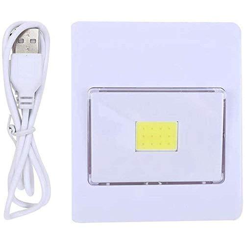 YuKeShop COB LED interruptor de luz brillante gabinete inalámbrico armario luz noche cajón armario interruptor lámpara