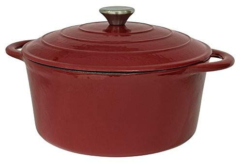 It's useful. 5.5QT Cast Iron Enamel Covered Round Dutch Oven With Lid