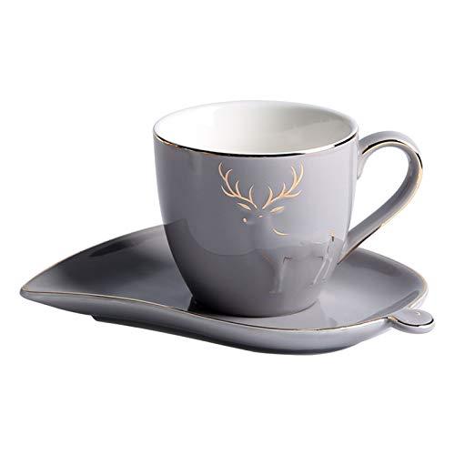 YZERTLH Tasse 5.1 OZ Kaffeetasse und...
