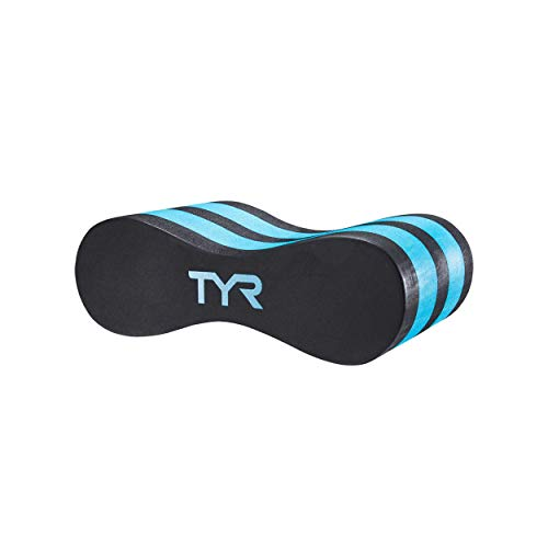 TYR Junior Pull Float, Black/Blue, 4.75 inches