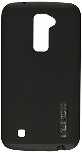 Incipio LG K10 Case, [Hard Shell] [Dual Layer] DualPro Case for LG K10-Black/Black